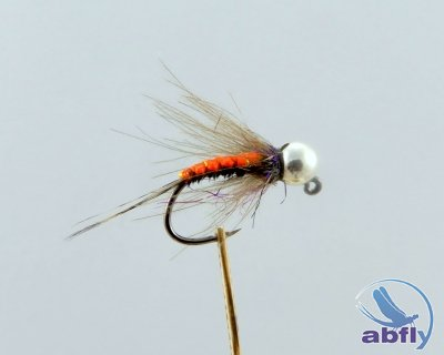 Mucha Black and Orange Jig