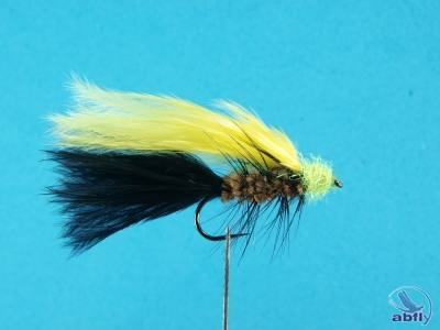 black and yellow marabou