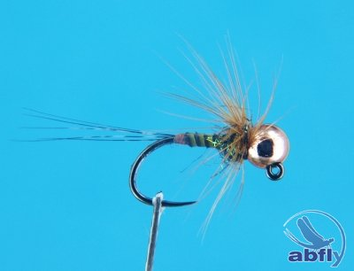 Mucha Jig Gold Olive Quill 2
